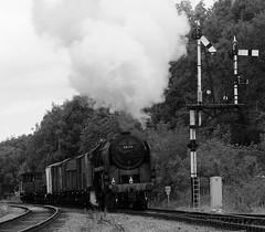 GCR 43458bwcr (kgvuk) Tags: gcr greatcentralrailway trains railways locomotive steamlocomotive 9f 2100 92212 92178 swithlandsidings