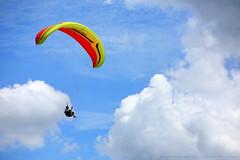 Fly With Nature #01 | Paragliding (AnNamir c[_]) Tags: paragliding paraglidingmalaysia paraglidingkkb annamir canon 5dmk3 paraglidingwallpaper wallpaper kualakubu kkb huluselangor kkbparaglidingpark