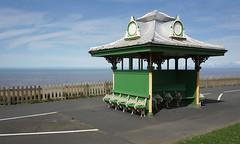 Bench - Bispham, Blackpool (Neil Pulling) Tags: lancashire uk england blackpool shelter bench irishsea morecambebay seaside