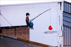iHeart Fishing [Explored] (Clayton Perry Photoworks) Tags: vancouver bc canada explorebc explorecanada paint art wall graffiti iheart murals vmf vancouvermuralfestival