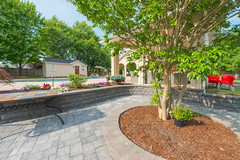 After 2016 (29) (The Sharper Cut Landscapes) Tags: belgardhardscapes patio pavers plantings paverdesign pool pavilion walkway steps seatwall retainingwall landscapedesign landscaping landscapecompany landscapelighting thesharpercutlandscapes thesharpercut