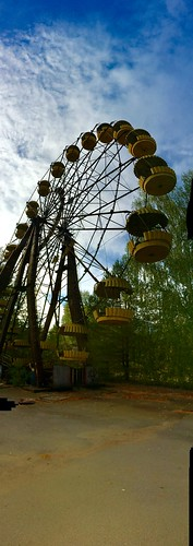 Amusement Park, Pripyat, Chernobyl Exclusion Zone