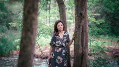 lost and found (r3ddlight) Tags: asian asianwoman a6300 sonya6300 sonyphoto sony85mmgm portrait photography woods dress hmong