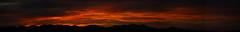Sunrise 9 20 16 #17 Panorama e (Az Skies Photography) Tags: sun rise sunrise morning dawn daybreak sky skyline skyscape cloud clouds rio rico arizona az riorico rioricoaz arizonasky arizonaskyline arizonaskyscape arizonasunrise september 20 2016 september202016 92016 9202016 canon eos rebel t2i canoneosrebelt2i eosrebelt2i red orange black salmon gold golden yellow panorama
