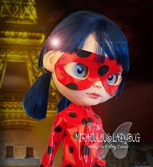 Miraculous Ladybug (Blythe Fairy Tales) Tags: blythe blythedoll miraculousladybug customblythe blythefairytales