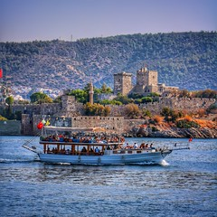 Bodrum, Mula, Trkiye / 2016 (onuruye) Tags: follow like love best flickr canon hdr trkiye turkey bodrum beach cost summer outdoor special edit holiday travel tour history castle architecture amazing view boat sea nature art pic photooftheday photography photo