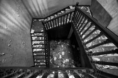 Vertigo stairs (JR-pharma) Tags: urban abandoned stairs canon eos scary ruins university place decay universit debris eerie creepy spooky abandon forgotten 5d exploration escalier sciences fac ancienne urbex urbaine salet abandonn facult friche desaffect 5d1