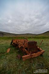 shs_n8_004336 (Stefnisson) Tags: summer west car landscape iceland rust 4x4 sumar fjords sland vestfirir westfjords ry bl blhr stefnisson