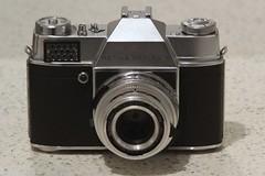 Kodak Retina Reflex S (TempusVolat) Tags: camera old slr film 35mm canon vintage lens eos reflex mr kodak s chrome vintagecamera lightmeter gareth retina morodo 60d reflexs mrmorodo garethwonfor tempusvolat