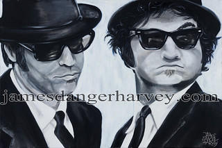 blues brothers by James Danger Harvey