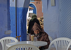 Chefchaouen (Sallyrango) Tags: blue forsakenpeople morocco berber maroc chaouen chefchaouen rif bluecity rifmountains