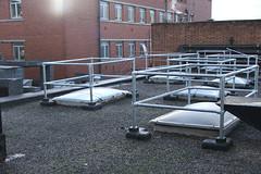 Kee Dome Skylight Guardrail