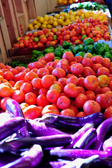 Bridget Baker_Marketplace_Rainbow produce