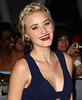 AJ Michalka at the premiere of 'The Twilight Saga: Breaking Dawn - Part 2' at Nokia Theatre L.A. Live. Los Angeles, California