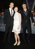 Max Irons, Saoirse Ronan, Jake Abel at the premiere of 'The Twilight Saga: Breaking Dawn - Part 2' at Nokia Theatre L.A. Live. Los Angeles, California