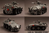 "LAS-45 ""Roadrunner"" (Blockaderunner) Tags: las war republic lego military scout 45 future vehicle armour roadrunner reconnaissance"
