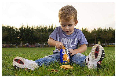 Galletas en el parque / Cookies in the park
