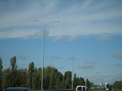 sky in streetlights (havryliuk) Tags: road sky streetlamp kyiv