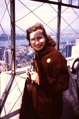 NYC April 1980 pic043 (streamer020nl) Tags: nyc newyork building state manhattan louise esb empire empirestatebuilding 1980 1000 louiselh