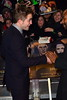 Robert Pattinson The Twilight Saga Breaking Dawn Part 2 UK premiere - arrivals London, England