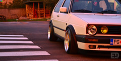 "Luka's VW Golf mk2 • <a style=""font-size:0.8em;"" href=""http://www.flickr.com/photos/54523206@N03/8190927951/"" target=""_blank"">View on Flickr</a>"