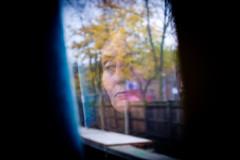 Profile Of A Woman (LarryH.) Tags: street uk portrait colour london photography fuji candid streetphotography documentary x100 fujifilmx100 fujix100