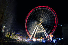 Winter Wonderland, Swansea (JonJamesPhotography81) Tags: winter wheel swansea wales lights fairground south fair ferris rides wonderland sa1 attractions