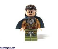 Elrond Front (Masked Builder) Tags: lego review elf lordoftherings elrond eurobricks