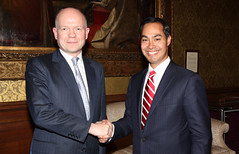 San Antonio Mayor, Julin Castro (Foreign and Commonwealth Office) Tags: william hague foreignoffice fco williamhague ukforeignoffice