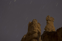Bryce Canyon NP rocks by moonlight (mbuna) Tags: usa stars utah canyon moonlight bryce hoodoos