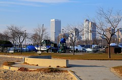 Late November McKinley Park (johndecember) Tags: park morning november usa fall beach skyline wisconsin boat album lakemichigan milwaukee hdr lakefront 2012 mckinleypark mke photomatixpro photoscape mckinleybeach