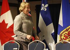 Premier/première ministre Dunderdale