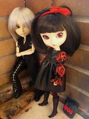 Yuki & Kira (Lunalila1) Tags: outfit doll yuki wig groove pullip kira desing urasawa arion taeyang stica balastegui astunkiki