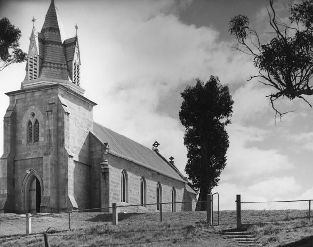 architecture stpauls churches stjohns richmond stpatricks colebrook pugin tasmanianhistory oldphotostasmania oldtasmanianphotos