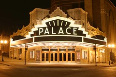 Palace Theater: Albany, New York with LED S14 Light Bulbs (LEDMAN618) Tags: lighting newyork lightbulb marquee globe bars colorful theater closets led signage albany storefronts staircases cabinets ceilings décor ledlights palacetheater lounges theatermarquee accentlighting ledbulbs ledlightbulb