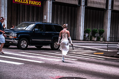 Leia X-ING (axi11a) Tags: city atlanta starwars cosplay atl crosswalk dragoncon leia blaster d80 dragoncon2012
