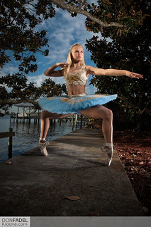 En Pointe Warrior Pose
