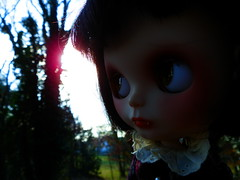 Claudia is seeing the sun