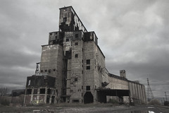 Cargill Superior (Mycophagia) Tags: ny newyork abandoned industry architecture concrete buffalo industrial decay elevator grain superior disused derelict grainelevator defunct cargill cargillsuperior