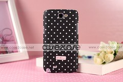 Cath Kidston case for Samsung Galaxy Note 2 II Dots Black —— $29.99