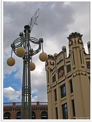 Valencia, Spanien - Bahnhof Estación Del Nord