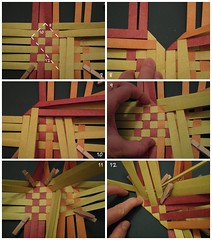 Heart Box Tutorial 2/6 (Dasssa) Tags: origami heart box weaving tutorial paperstrips dasssa