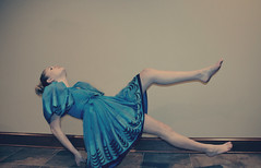 Will the coffin be lined with satin, will the hospital room be filled with flowers? (Tangie Ray) Tags: selfportrait self floating levitation selfie vintagedress tangieray