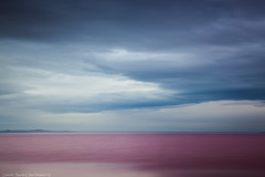The Red Sea (Conor Barry) Tags: red sea sky lake storm nature water clouds landscape long exposure outdoor great salt simplicity algae filters polarizer simple singhray varinduo