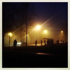 Morning (denisperekhrest) Tags: morning light mist fog noflash belarus minsk makebeautiful iphoneography hipstamatic janelens inas1982film
