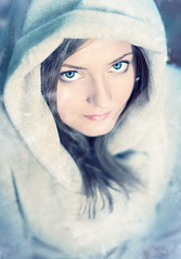 Snow White 2 (photobypawelp) Tags: blue winter portrait woman girl fashion female glamour naturallight ps getty gettyimages nikond300