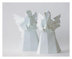 Angel (steffi's) Tags: angel paper origami craft diagram folded engel papel handicrafts papier carta papercraft 折紙 おりがみ 折り紙 falten nealelias origamiangel かみ 纸的 faltengel origamiengel