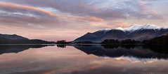 SkyFire over Derwent Waters (awhyu) Tags: lake sunrise photography district derwent andrew cumbria waters yu keswick