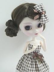 Ayumi(Pullip Bonita) (Lili-Cupcake) Tags: white ebay s wig bonita pullip custom ayumi sbh obitsu