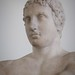 Bust view of The Lansdowne Athlete 1st century BCE - 1st century CE Roman copy of 340-330 BCE Greek original by Lysippos